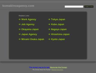 komakinoagency.com screenshot