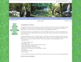komatiecotourism.co.za screenshot
