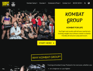 kombatgroup.com screenshot