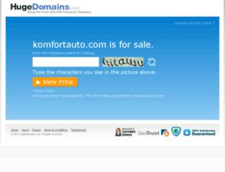 komfortauto.com screenshot