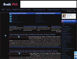 komikfox.blogspot.com screenshot
