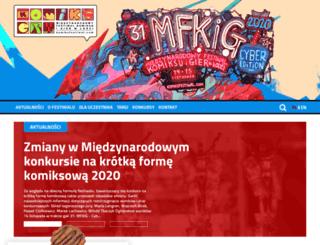 komiksfestiwal.com screenshot