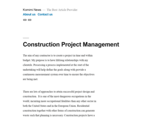 komiminews.net screenshot