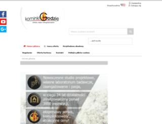 kominki-godzic.sklep2.pl screenshot