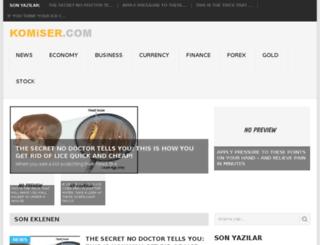 komiser.com screenshot