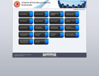 komisyon.tbmm.gov.tr screenshot