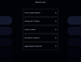 komli.com screenshot