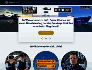 komm-zur-bundespolizei.de screenshot
