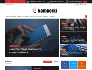 komoorki.pl screenshot
