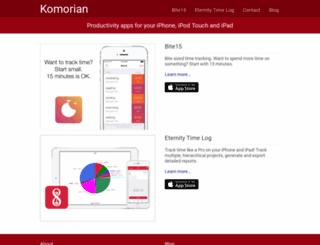komorian.com screenshot