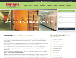 kompactsystems.com screenshot