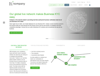 kompany.ch screenshot