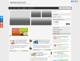 kompasblogger.blogspot.com screenshot