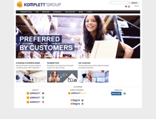 komplettgroup.com screenshot