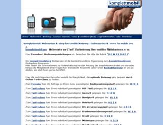 komplettmobil.com screenshot