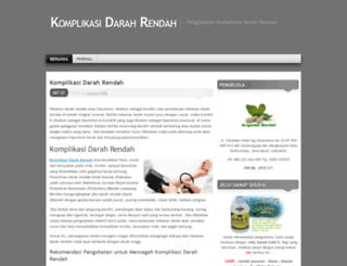 komplikasidarahrendah.wordpress.com screenshot