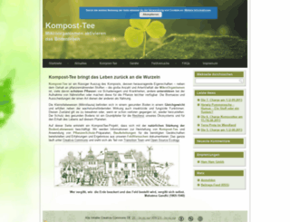 kompost-tee.de screenshot