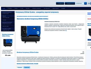 kompresory-esoair.flox.sk screenshot