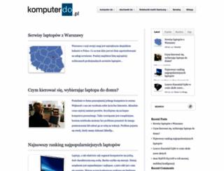 komputerdo.pl screenshot