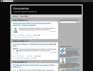 komputerista.blogspot.com screenshot