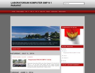 komputersmpn1parapat.blogspot.com screenshot
