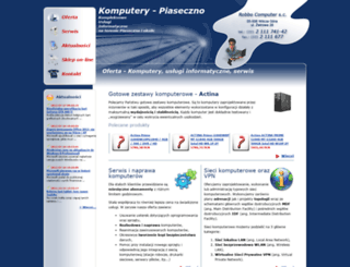 komputery-piaseczno.pl screenshot