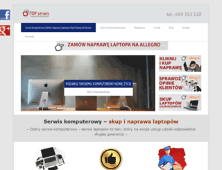 komputerytopserwis.pl screenshot