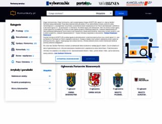 komunikaty.pl screenshot