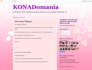 konadomania.blogspot.com screenshot