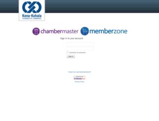 konakohalachamber.chambermaster.com screenshot
