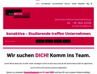 konaktiva-dortmund.de screenshot