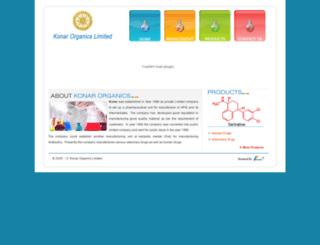 konarorganics.com screenshot