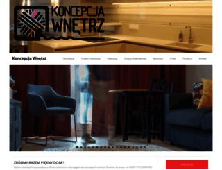 koncepcjawnetrz.pl screenshot
