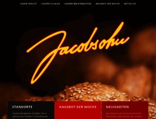 konditorei-jacobsohn.de screenshot