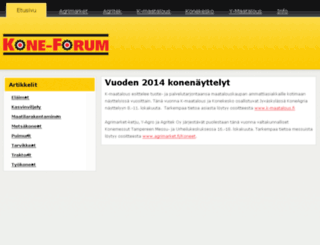 koneforum.com screenshot
