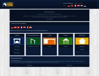 konfigurator.skanholz.com screenshot