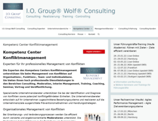 konfliktmanagement.wiog.de screenshot