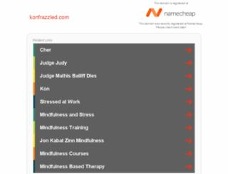 konfrazzled.com screenshot