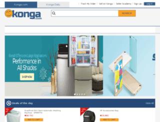 konga.com.gh screenshot