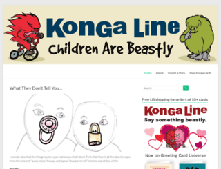 kongaline.com screenshot
