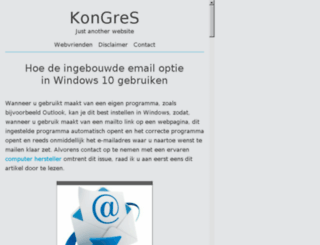 kongres.info screenshot