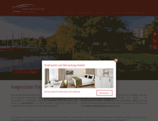 kongresshotel-potsdam.de screenshot