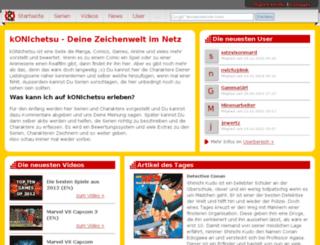 konichetsu.de screenshot