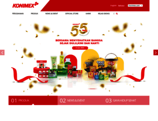 konimex.com screenshot