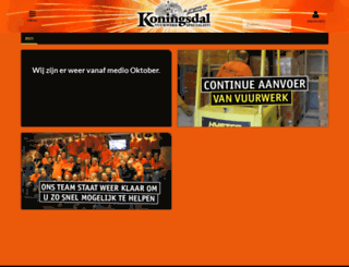 koningsdal.nl screenshot