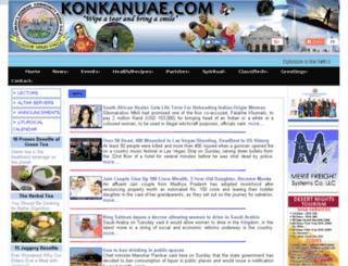 konkanuae.com screenshot