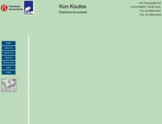 konkoufos.com screenshot