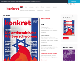 konkret-magazin.de screenshot