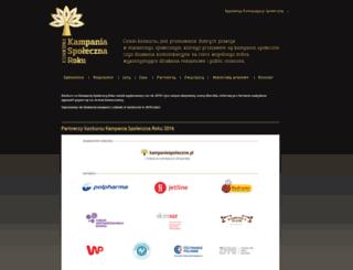 konkurs.kampaniespoleczne.pl screenshot