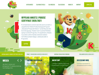 konkurs.przyjacielenatury.pl screenshot
